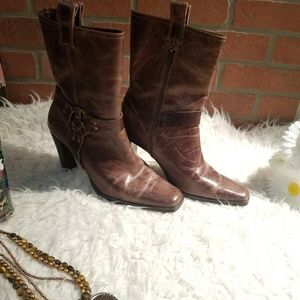 """Sz 10 Matisse Leather 3.5"""" Boots NWOT"""